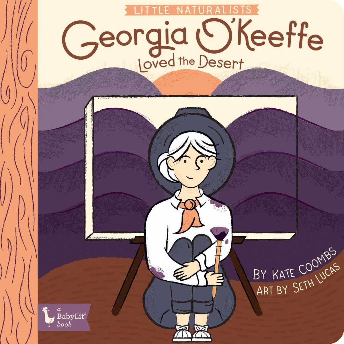 Little Naturalist: Georgia O'Keeffe Loved The Desert