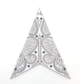 White Aquila Paper Star Lantern