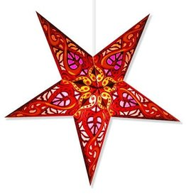 Red Paper Star Lantern