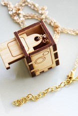 iluxo Rolleiflex Camera Locket Necklace