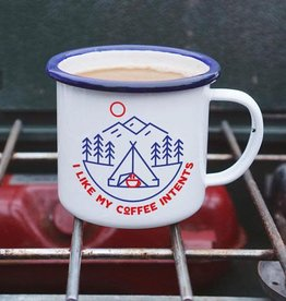 Enamel Co. Intents Enamel Mug