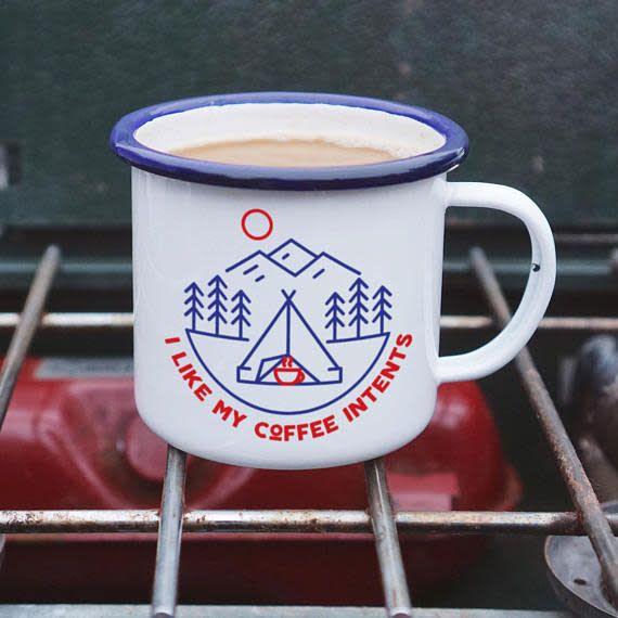 Enamel Co. Intents Enamel Mug