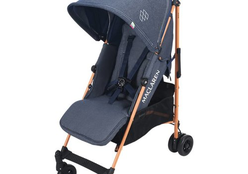 Maclaren Maclaren Quest Stroller In Denim Indigo
