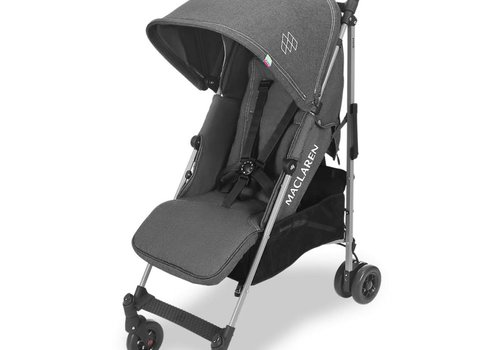 Maclaren Maclaren Quest Stroller In Denim Charcoal