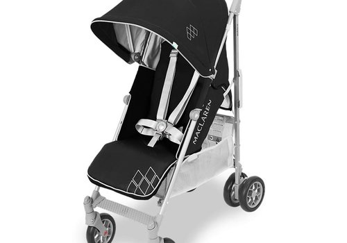Maclaren Maclaren Techno XT Stroller In Black-Silver