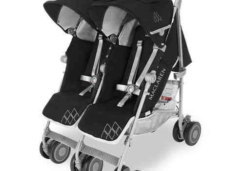 Maclaren Maclaren Twin Techno Stroller In Black