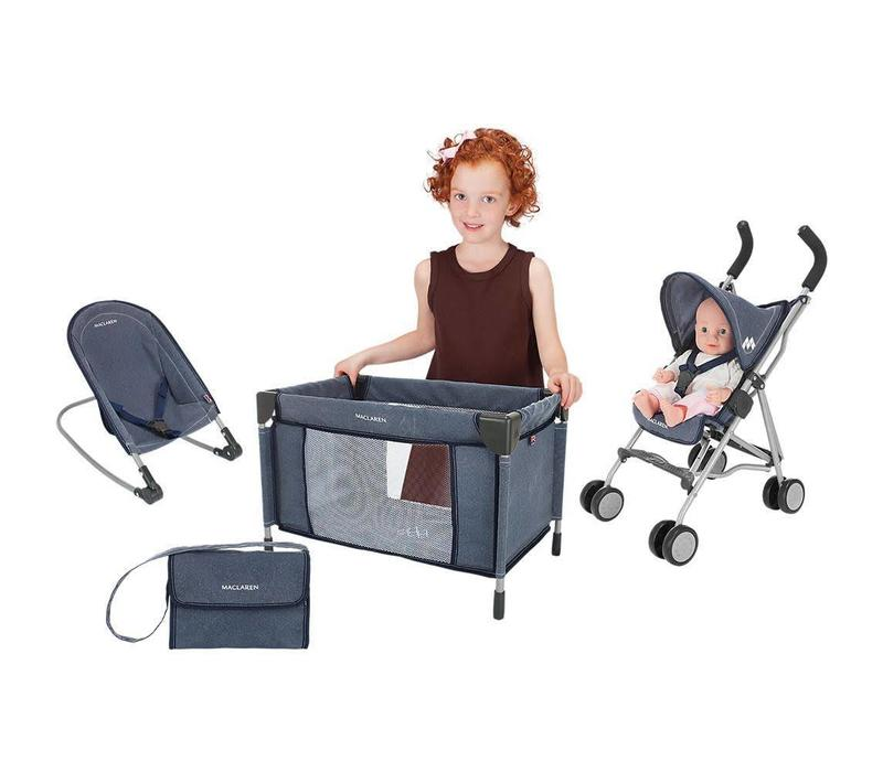 Maclaren Deluxe Activity Set, Denim Print