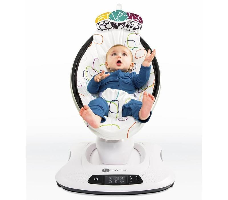 4 Moms Mamaroo Swings  Multi-Colored Plush