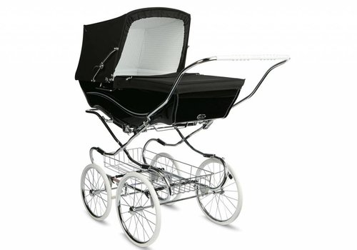 Silver Cross Silver Cross Kensington Carriage In Black