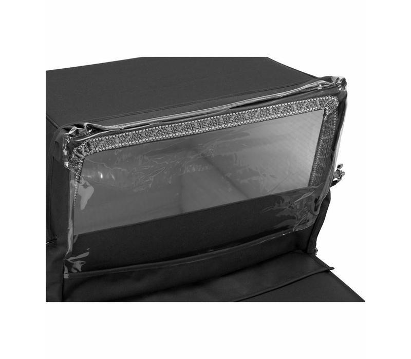 Silver Cross Kensington Rain Shield In Black