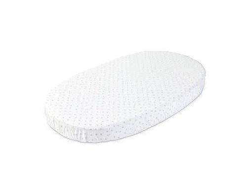 Stokke Stokke Sleepi Crib Fitted Sheet In Grey Dotty