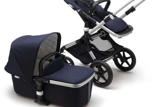 Bugaboo Bugaboo Fox Classic (Quilted) + Complete Aluminum/Dark Navy