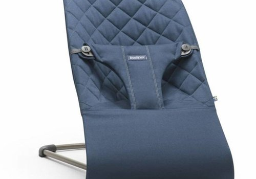 Baby Bjorn BABYBJORN Bouncer Bliss Quilted Cotton - Midgnight Blue