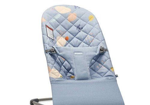 Baby Bjorn BABYBJORN Bouncer Bliss Quilted Cotton - Confetti Blue