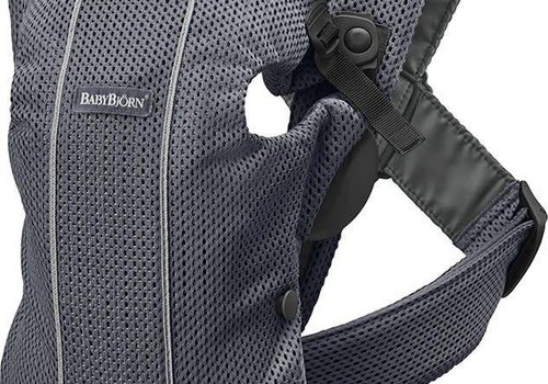 Baby Bjorn BABYBJORN Baby Carrier Mini 3D Mesh, In Anthracite (Slate Grey)