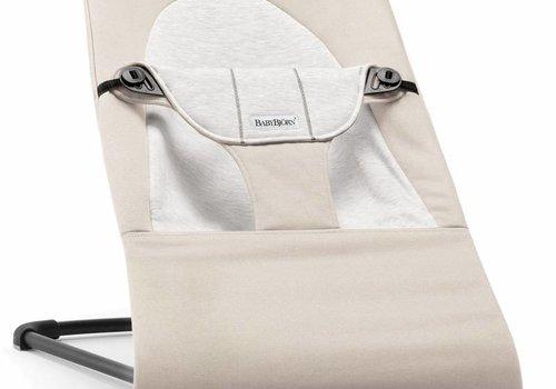 Baby Bjorn BABYBJORN Bouncer Balance Soft Cotton, Jersey - Beige/Grey