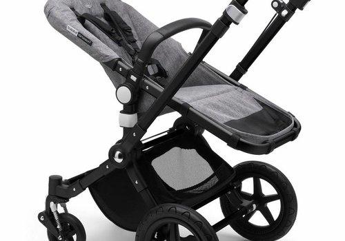 Bugaboo 2018 Bugaboo Cameleon3 PLUS Stroller Base Black- Grey Melange Bassinet/Seat/Underseatbasket With Canopy