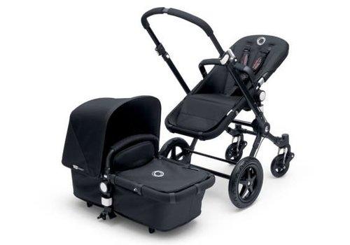 Bugaboo 2019 Bugaboo Cameleon3 PLUS Stroller Base Black- Black Bassinet/Seat/Underseatbasket With Canopy Black