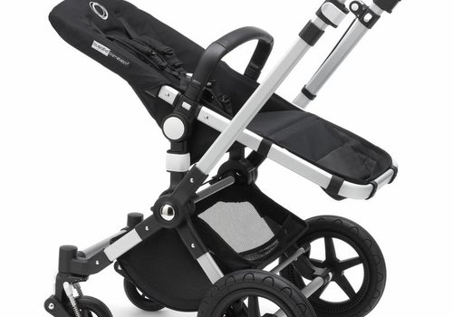 Bugaboo 2018 Bugaboo Cameleon3 PLUS Stroller Base Aluminum- Black Bassinet/Seat/Underseatbasket