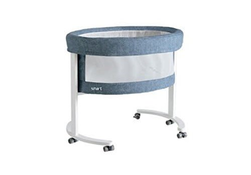 Micuna Micuna Smart Fresh Bassinet In White-Denim