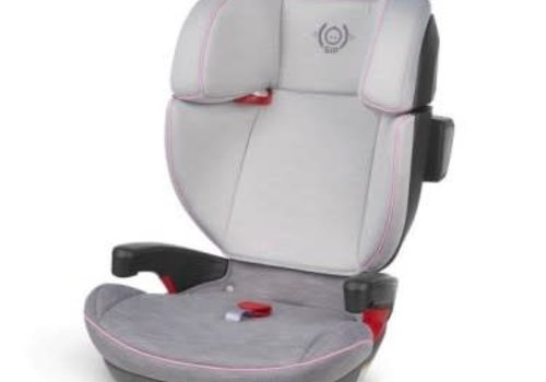 UppaBaby 2019 Uppa Baby Alta Booster Car Seat In Sasha (Grey Melange With Pink Accent)