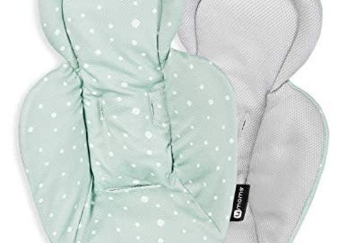 4moms 4moms Qulited Newborn Insert For Mamaroo And RockARoo Reversible Cool Mesh