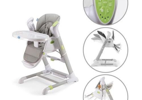 Pali Furniture Pali Pappy Rock High Chair In Gray