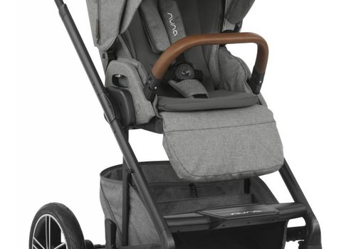 Nuna 2019 Nuna Mixx Stroller In Granite + Adaptors