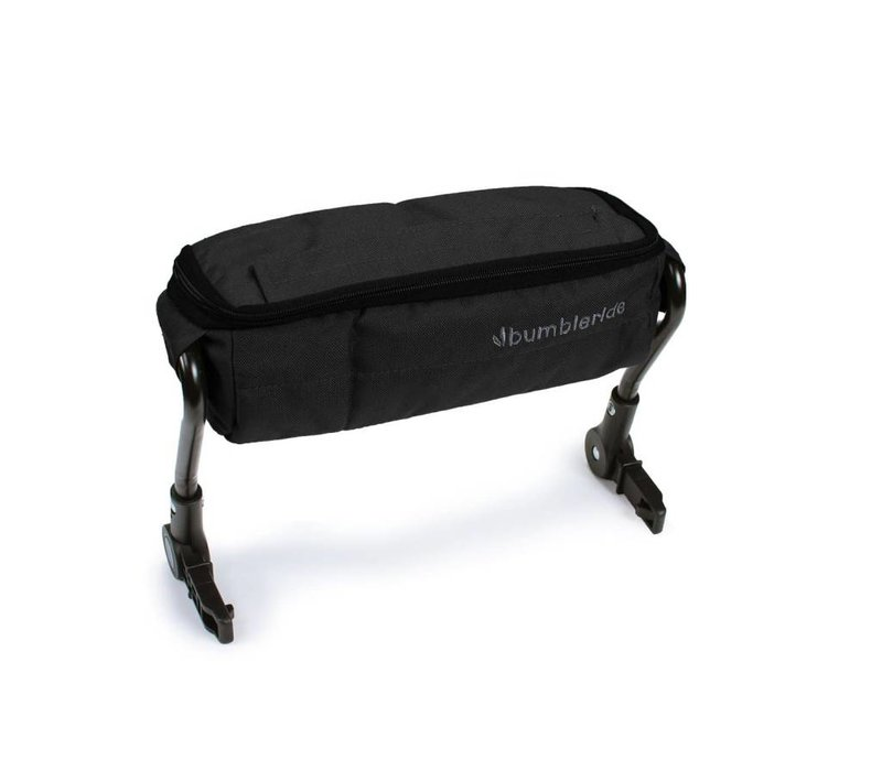 Bumbleride Snack Pack Matte Black for double strollers