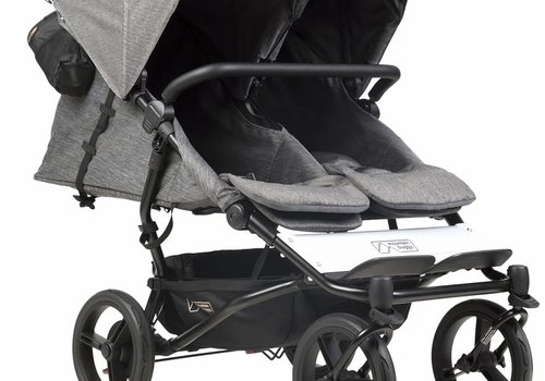 Mountain Buggy 2019 Mountain Buggy Duet Luxury Stroller - Herringbone