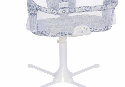 Halo Halo Bassinest Swivel Sleeper Bassinet - Luxe Series, Blue Medallion