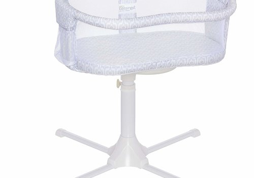 Halo Halo Bassinest Swivel Sleeper Bassinet - Essentia Series Blue Ikat