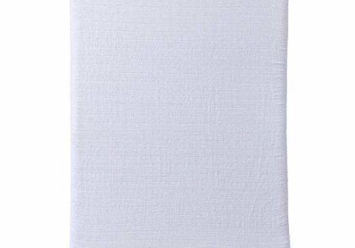 Halo Halo Dreamnest Fitted Sheet In White