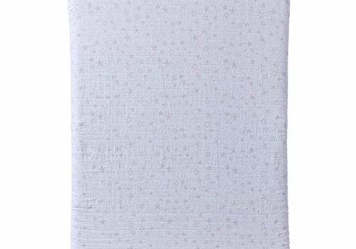 Halo Halo Dreamnest Fitted Sheet In Star Print