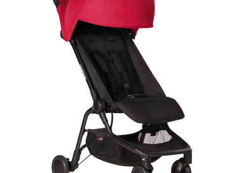 Mountain Buggy 2019 Mountain Buggy Nano Travel Single Stroller In Ruby