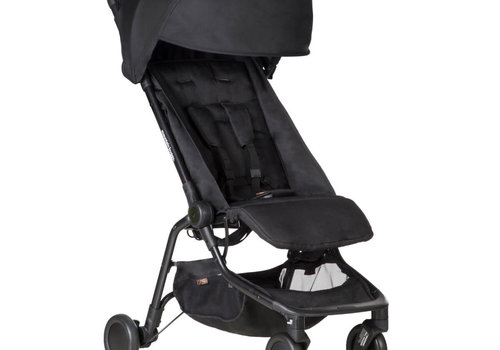 Mountain Buggy 2019 Mountain Buggy Nano Travel Single In Black