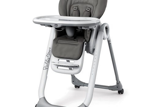 Chicco Chicco Polly2 Start High Chair In Graphite
