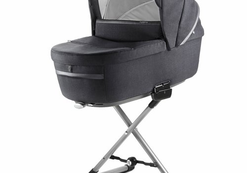 Inglesina 2019 Inglesina Aptica Bassinet Plus Stand In Mystic Black