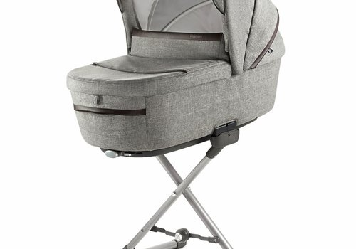 Inglesina 2019 Inglesina Aptica Bassinet Plus Stand In Mineral Gray