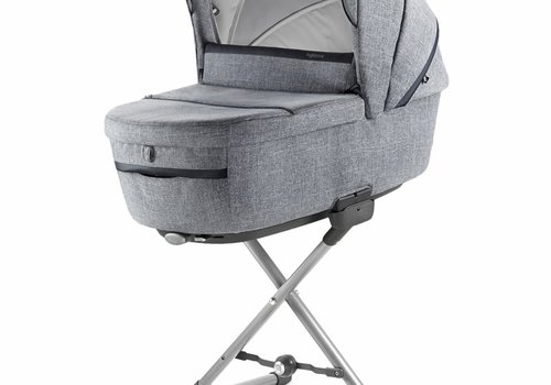 Inglesina 2019 Inglesina Aptica Bassinet Plus Stand In Niagara Blue