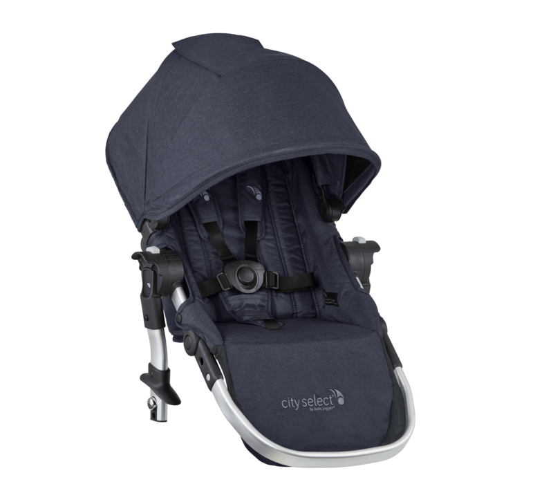 2019 Baby Jogger City Select Second Seat Kit In Carbon