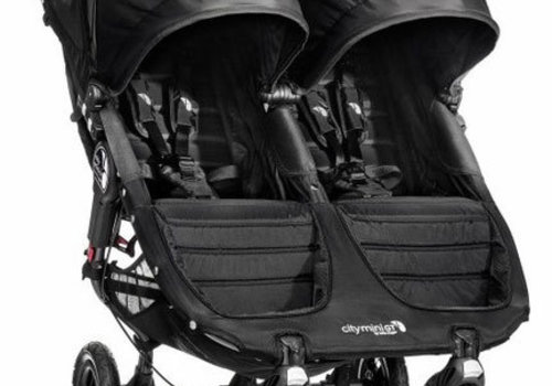 Baby Jogger 2018 Baby Jogger City Mini GT Double In Black - Black