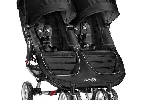 Baby Jogger 2018 Baby Jogger City Mini Double In Black - Gray