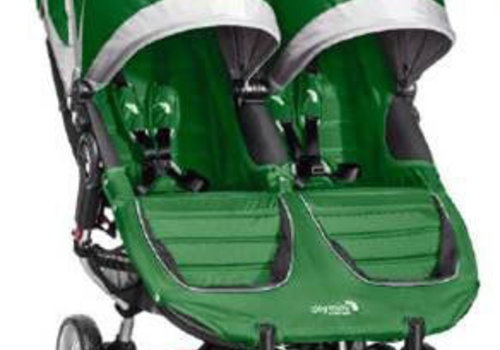 Baby Jogger 2018 Baby Jogger City Mini Double In Evergreen-Gray
