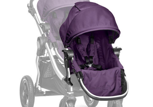 Baby Jogger 2018 Baby Jogger City Select Second Seat Kit In Amethyst - Silver Frame