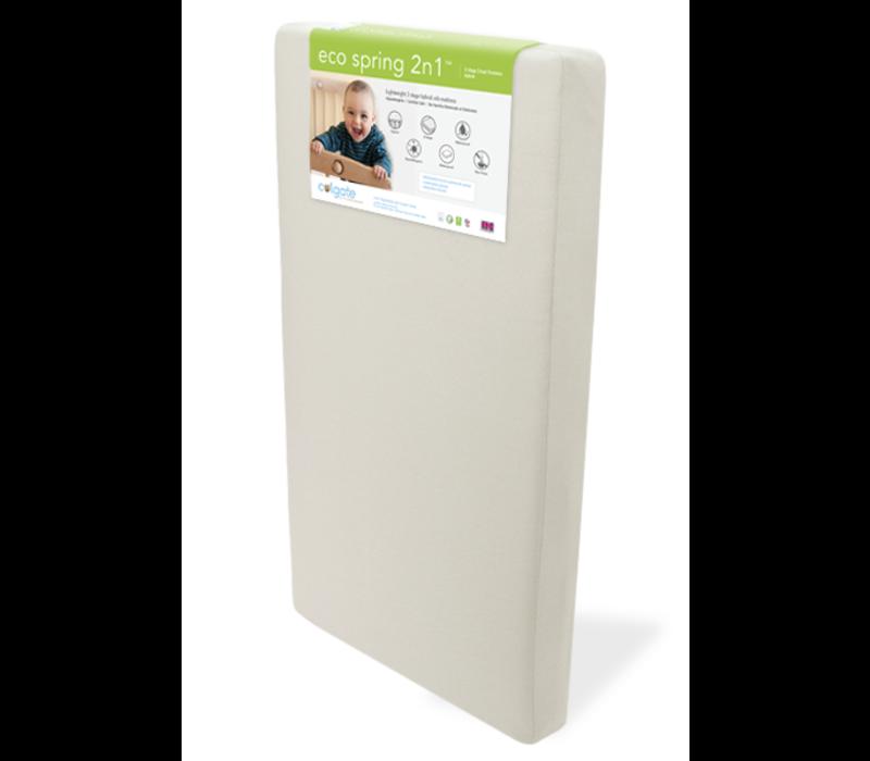 Colgate Eco-Spring 2-N-1 Crib Size Mattress