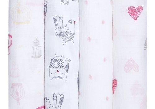 aden + anais aden + anais Love Bird Classic Swaddles (4 Pack)