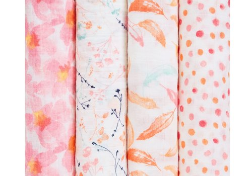 aden + anais aden + anais Petal Blooms Classic Swaddles (4 Pack)