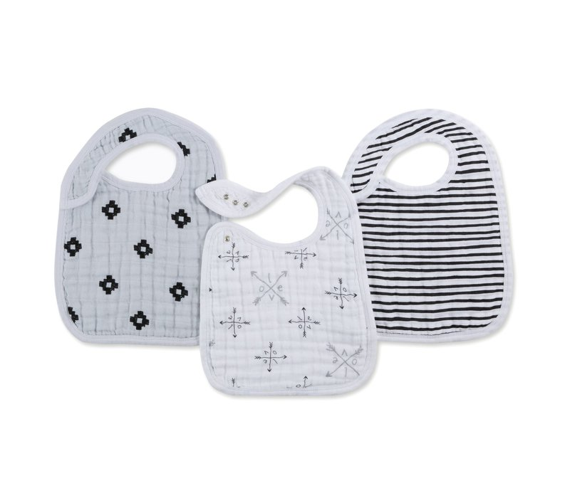 aden + anais Love Struck Snap Bibs (3 Pack)