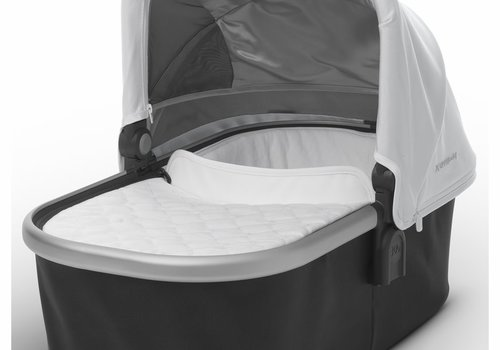 UppaBaby Uppa Baby Vista-Cruz Bassinet In Loic (White-Silver-Leather)